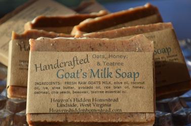 Goat's Milk Soap & Lotion Sales – Heaven's Hidden Homestead